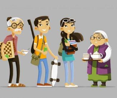 Urban Corners Characters