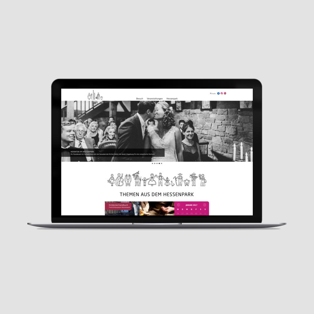 Ein kompletter Relaunch der Website des Freilichtmuseum Hessenpark